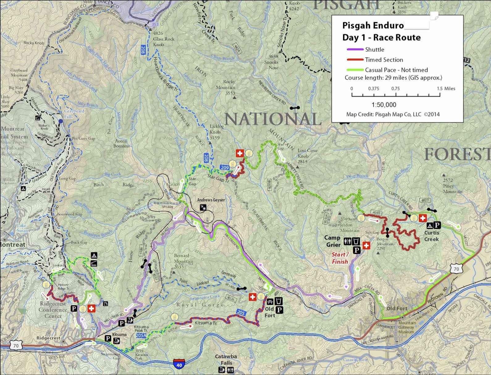 Pisgah Forest Nc Map.Pisgah Productions Pisgah National Forest Pisgah Enduro